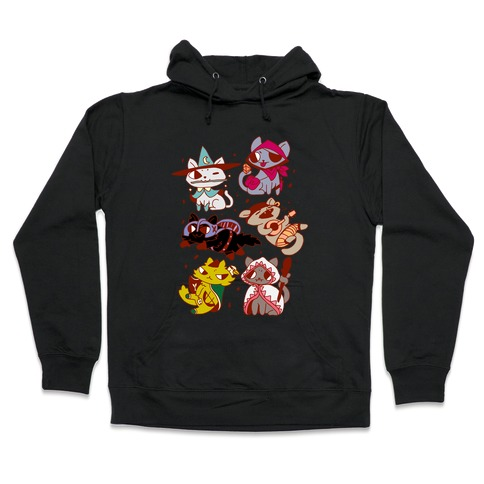 Warrior Cats Hooded Sweatshirt