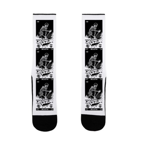 Death Tarot Sock