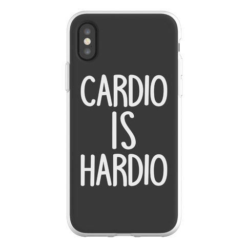 Cardio Is Hardio Phone Flexi-Case