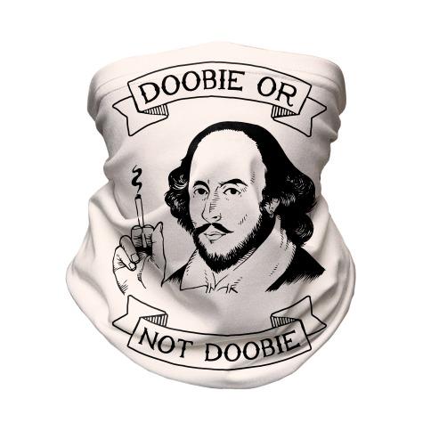 Doobie Or Not Doobie Neck Gaiter