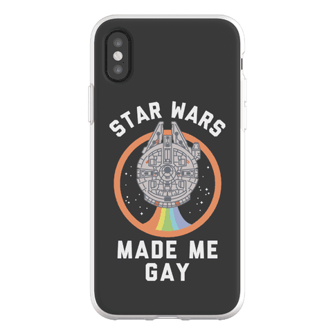 Star Wars Made Me Gay Phone Flexi-Case
