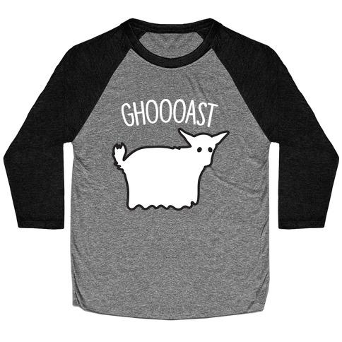 Ghoast Goat Ghost Baseball Tee