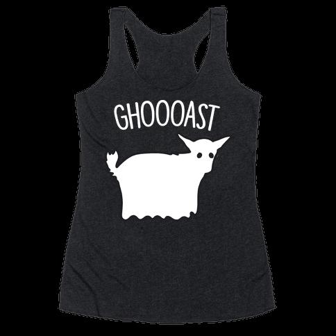 Ghoast Goat Ghost Racerback Tank Top