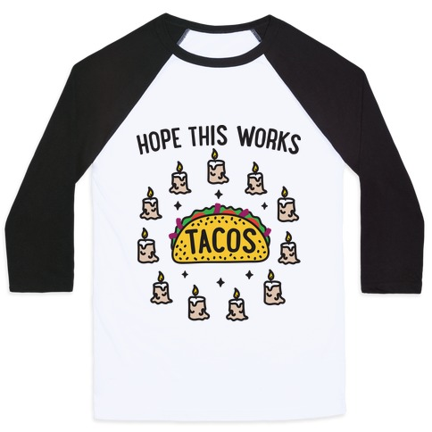 Tacos Summoning Circle Baseball Tee