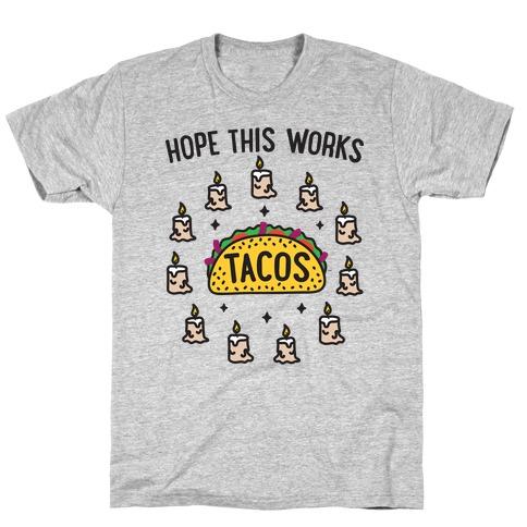 Tacos Summoning Circle T-Shirt