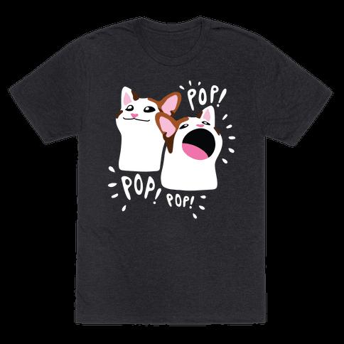Pop Cat Mens/Unisex T-Shirt
