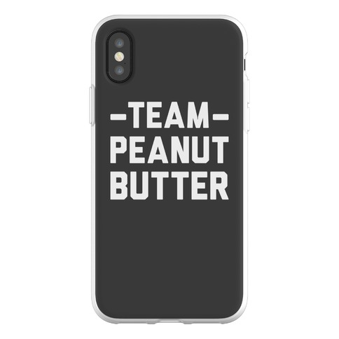 Team Peanut Butter Phone Flexi-Case