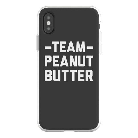 Team Peanut Butter Phone Flexi-Case