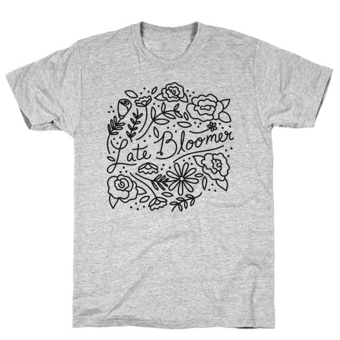 Late Bloomer Floral T-Shirt