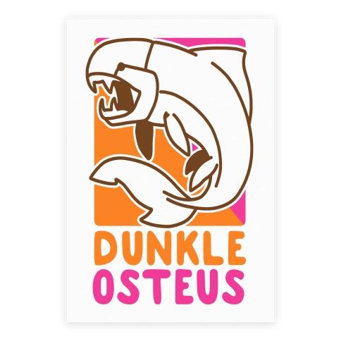Dunkin' Dunkleosteus Poster