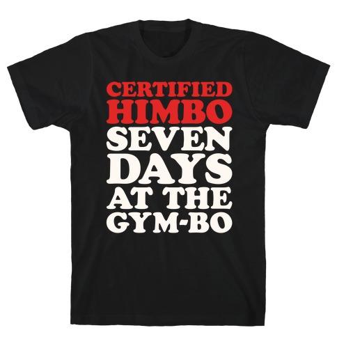 Certified Himbo White Print T-Shirt
