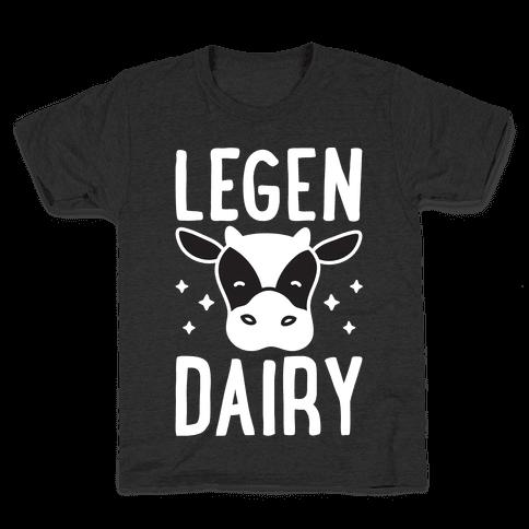 LegenDAIRY Cow Kids T-Shirt