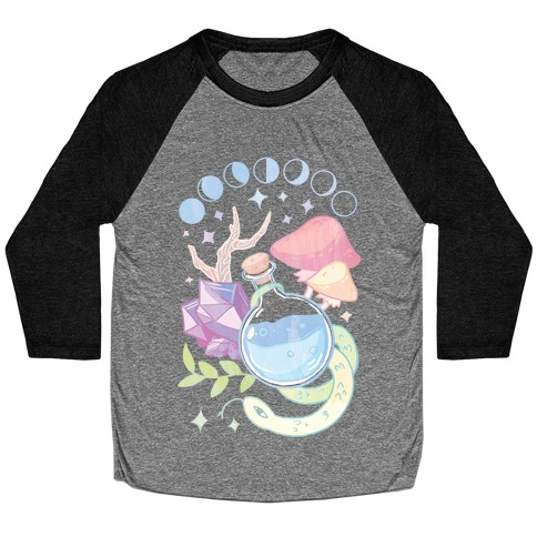 Witchy Pastel Things Baseball Tee