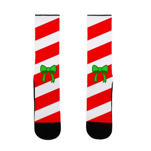 Candy Cane Sock