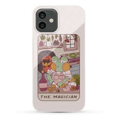 Cottagecore Magician Tarot Card Phone Case