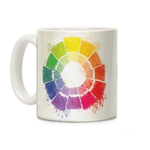 Artists Color Wheel Coffee Mug