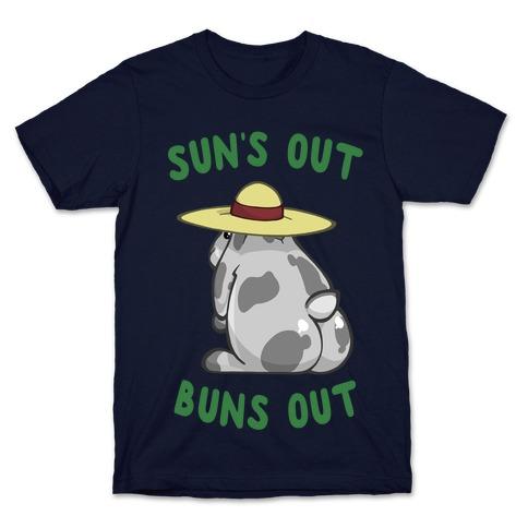 Sun's Out Buns Out Bunny T-Shirt