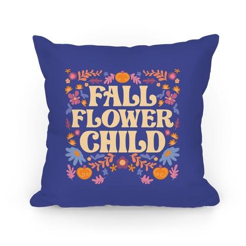Fall Flower Child Pillow