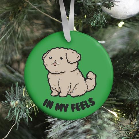 In My Feels (green) Ornament