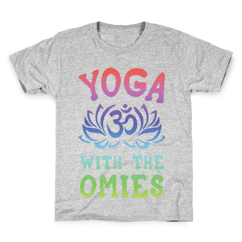 Yoga With The Omies Kids T-Shirt