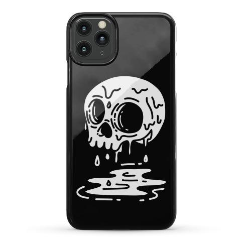 Melting Skull Phone Case