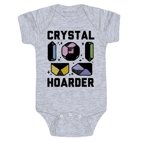 Crystal Hoarder Baby Onesy
