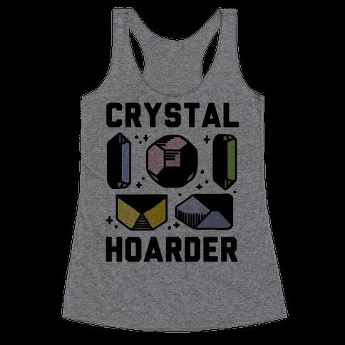 Crystal Hoarder Racerback Tank Top