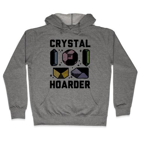Crystal Hoarder Hooded Sweatshirt