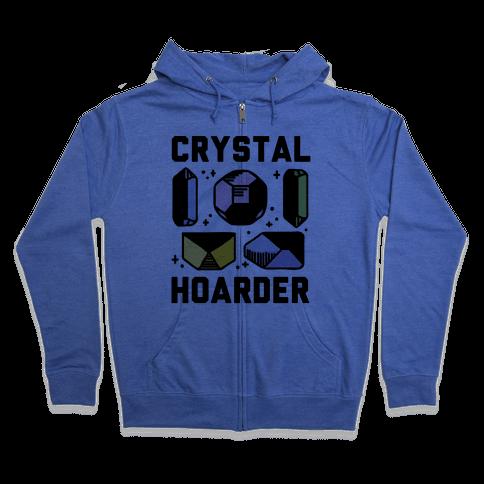 Crystal Hoarder Zip Hoodie