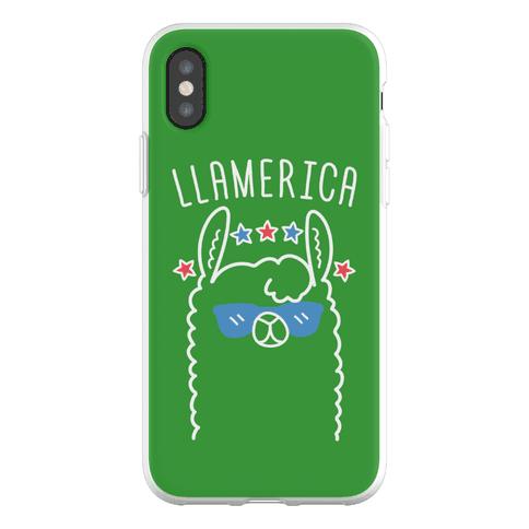 Llamerica American Llama Phone Flexi-Case