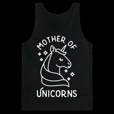Mother Of Unicorns Tank Top