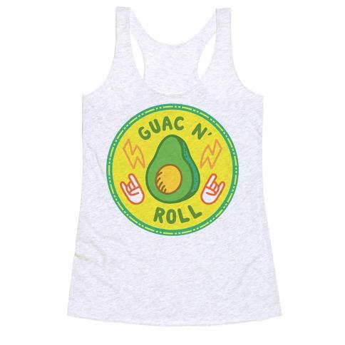 Guac N' Roll Culture Merit Badge Racerback Tank Top