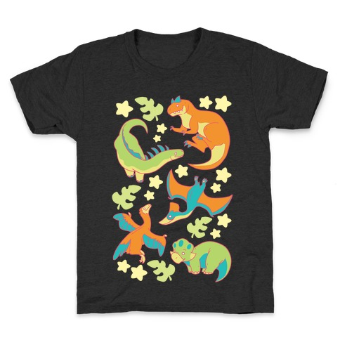 Funky Dinosaur Friends Kids T-Shirt