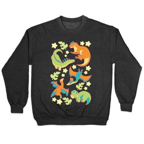 Funky Dinosaur Friends Pullover