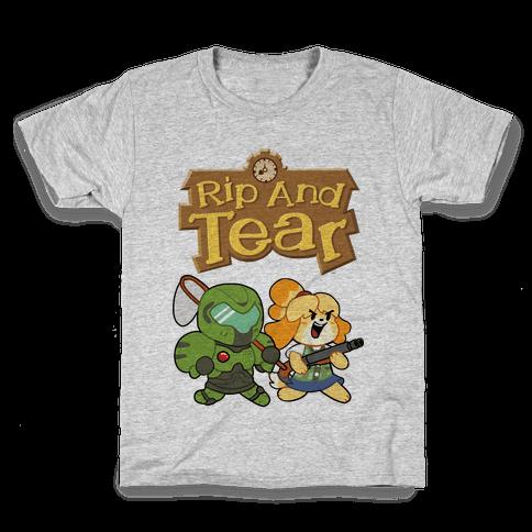 Rip And Tear Kids T-Shirt