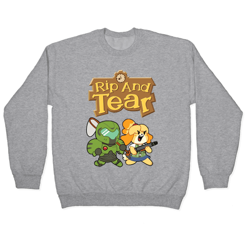 Rip And Tear Pullover