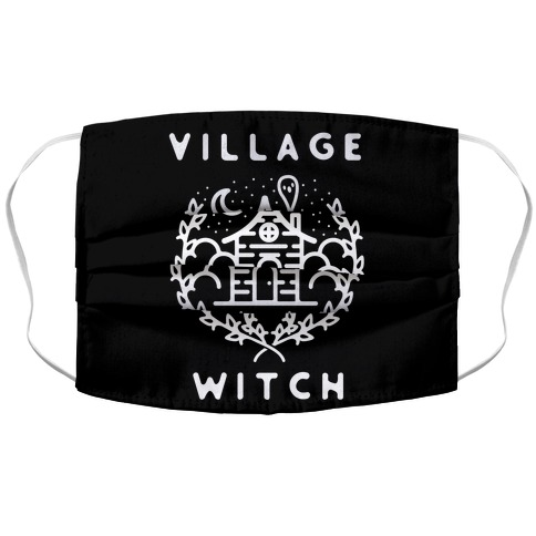 Village Witch Accordion Face Mask