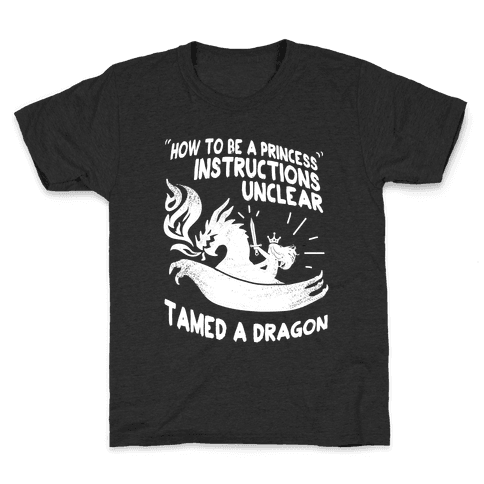Instructions Unclear, Tamed Dragon Kids T-Shirt