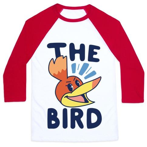 The Bird (1 of 2 pair) Baseball Tee