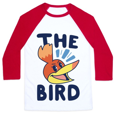 The Bird (1 of 2 pair) Baseball Tee