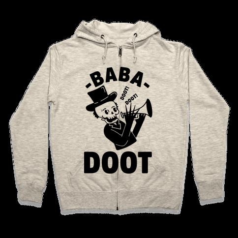 Baba Doot Zip Hoodie