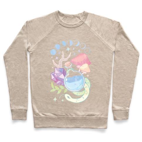 Witchy Pastel Things Pullover