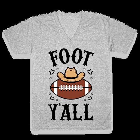 Footy'all V-Neck Tee Shirt
