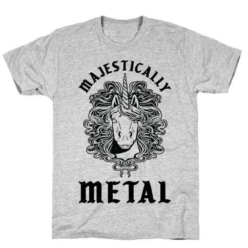 Majestically Metal Unicorn T-Shirt