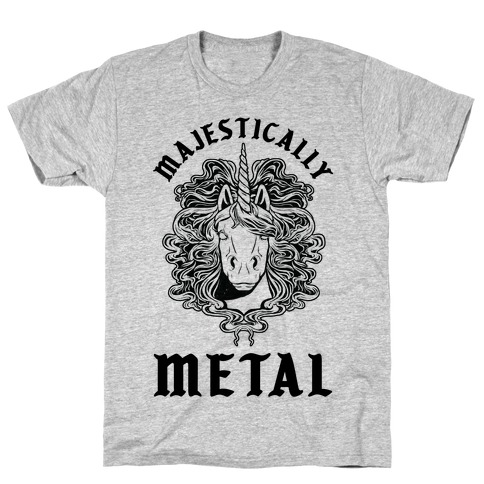 Majestically Metal Unicorn T-Shirt