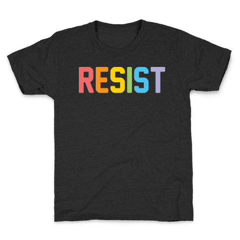 LGBTQ+ Resist Kids T-Shirt
