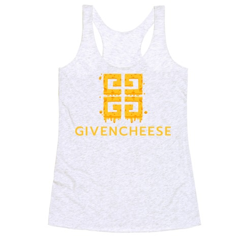 Givencheese Parody Racerback Tank Top