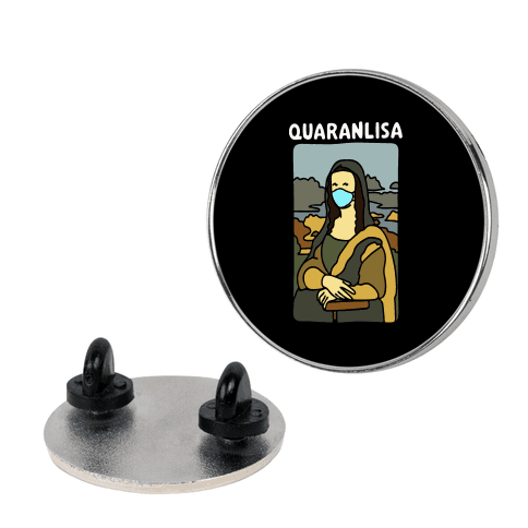 Quaranlisa Parody Pin