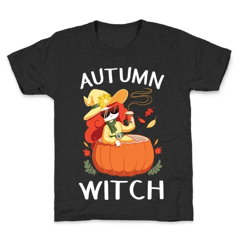 Autumn witch Kids T-Shirt