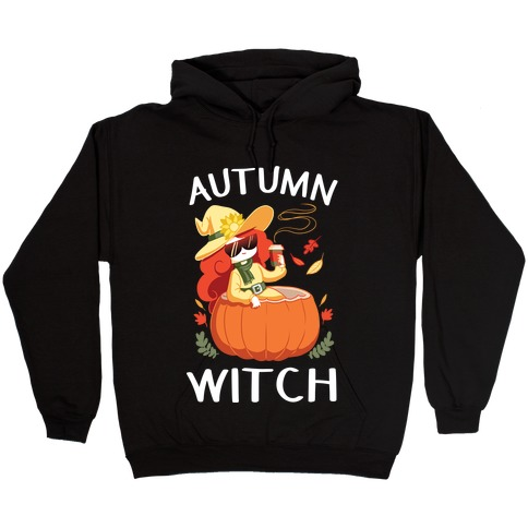 Autumn witch Hooded Sweatshirt